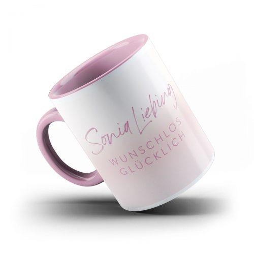 Sonia Liebing Tasse Wunschlos glücklich Ansicht 2