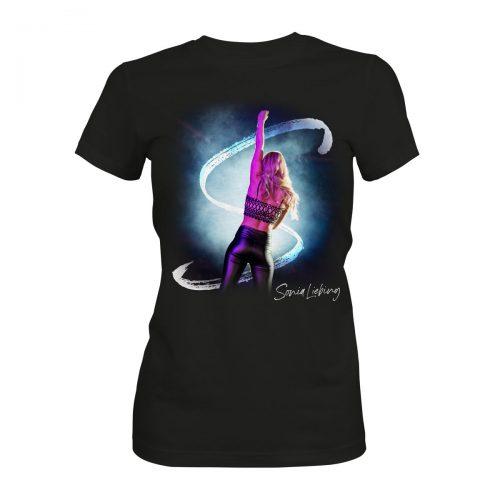 Sonia Liebing live T-Shirt schwarz