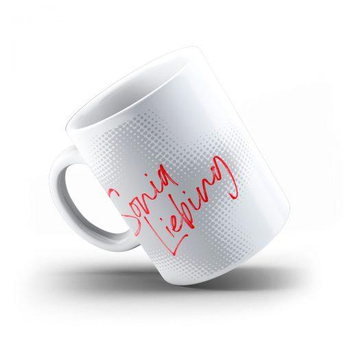 Sonia Liebing Tasse Kiss Foto Logo