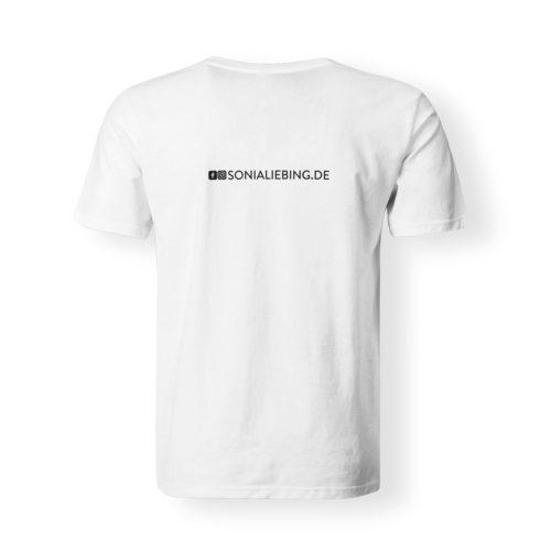 T-Shirt Herren Absolut Sonia Liebing weiss